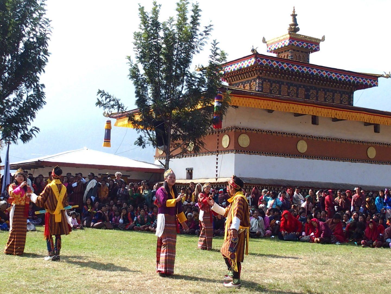 Fête populaire Punakha 11 jours au Bhoutan