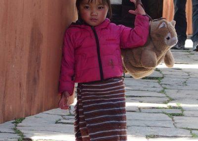 Fillette Bhoutan