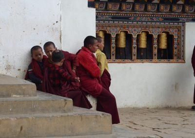 Jeunes moines Bhoutan