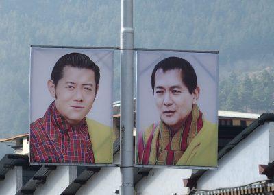 Le Roi et son fils Bhoutan