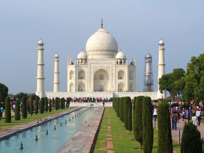 Mausolée du Taj Mahal et jardins Inde