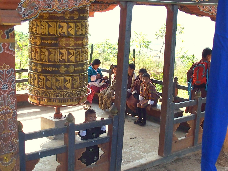 Moulin à prière environs Phunakha 11 jours au Bhoutan