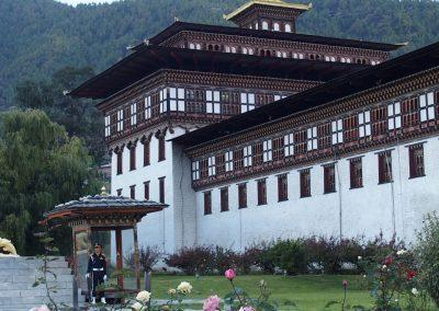 Palais royal Bhoutan