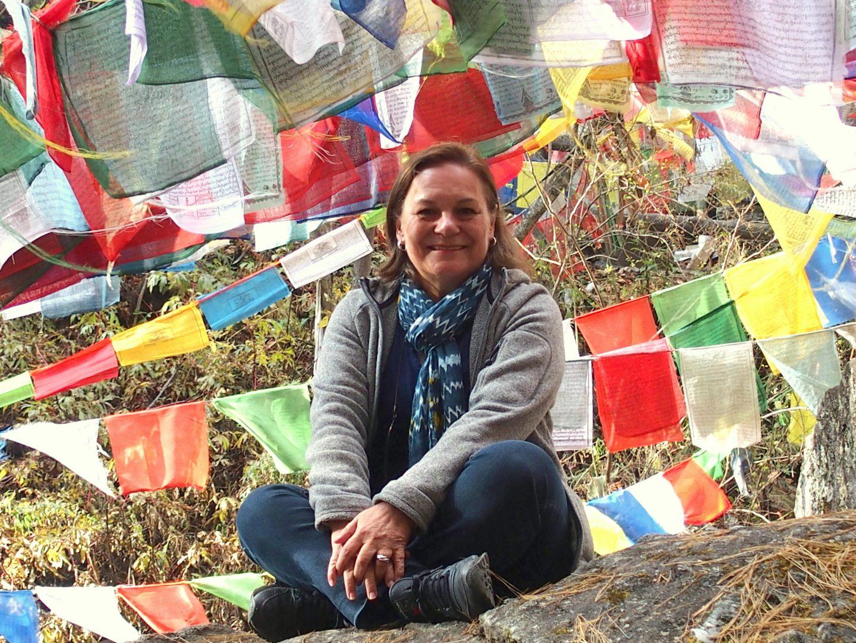 Pause au Burning Lake Bhoutan