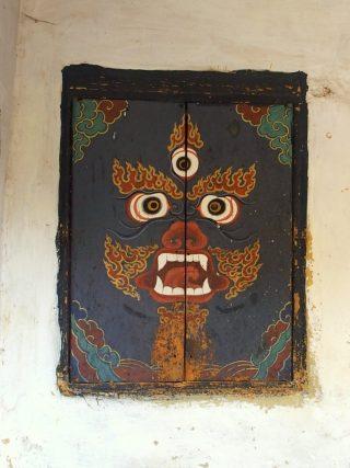 Peintures sacrées au Bhoutan