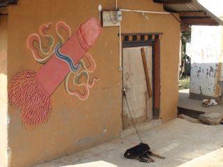 Les peintures phalliques au Bhoutan, c'est sacré !