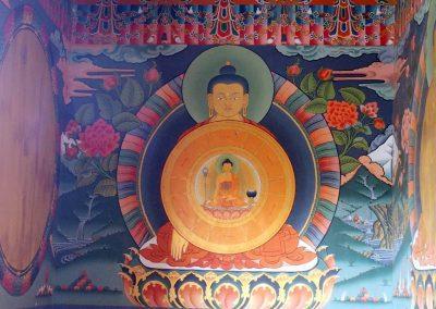 Peinture sacrée Bhoutan