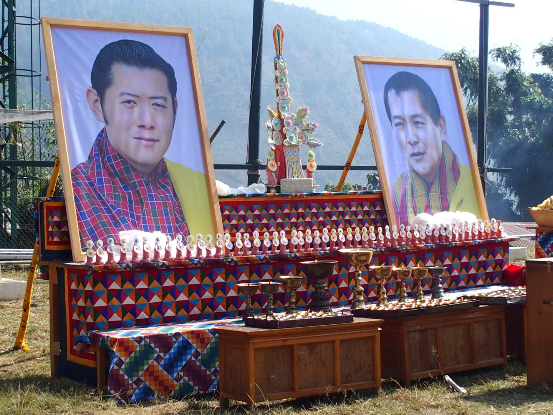 Photos Roi et son père 11 jours au Bhoutan