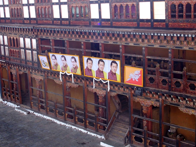 Portraits Rois Trongsa Bhoutan
