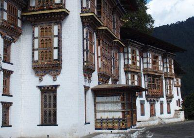 Richesse des dzongs Bhoutan