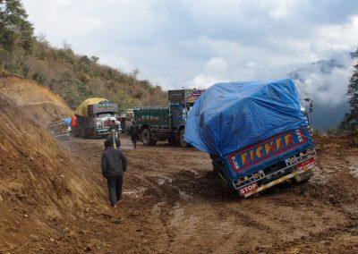 Routes dangereuses Bhoutan