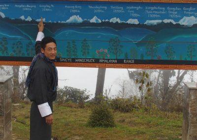 Sonam et les sommets du Bhoutan