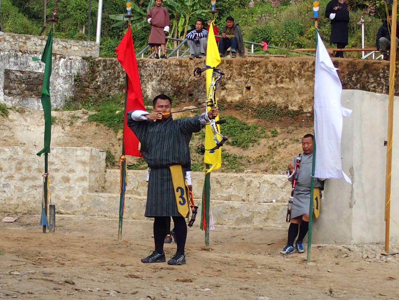 Tireur à l'arc Punakha 11 jours au Bhoutan