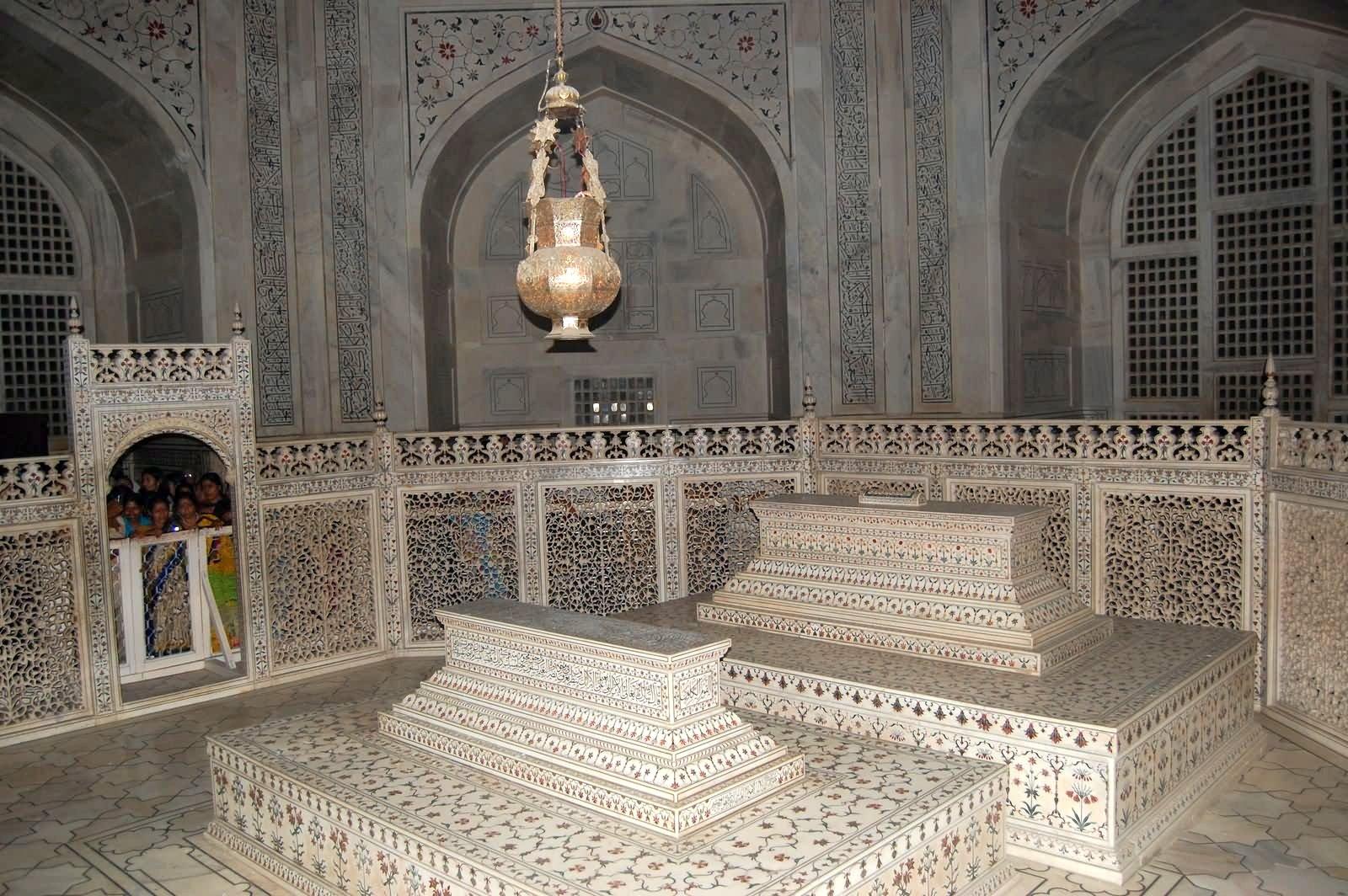 Tombes mausolée Taj Mahal Inde