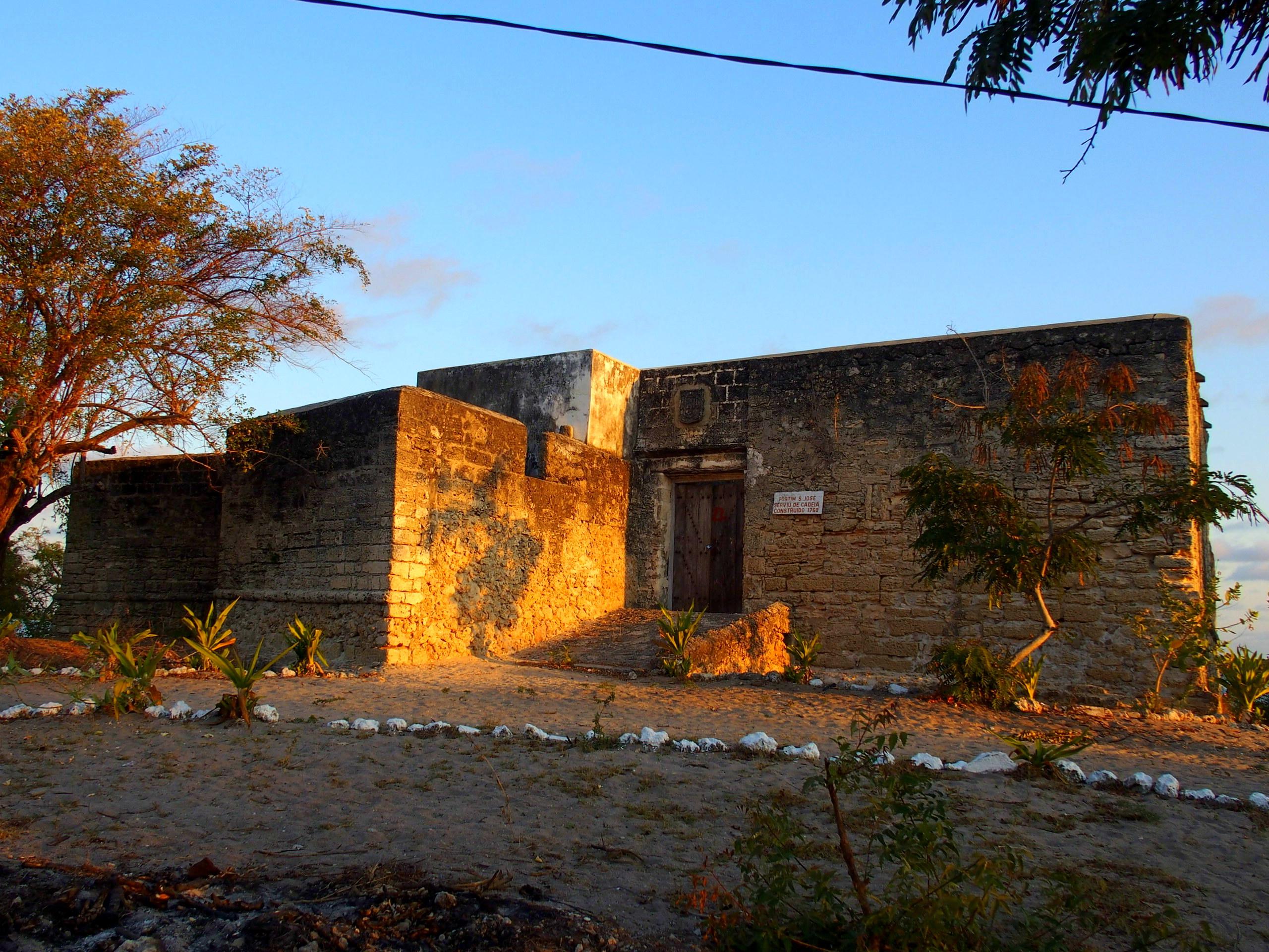 Fort San José ile Ibo Mozambique
