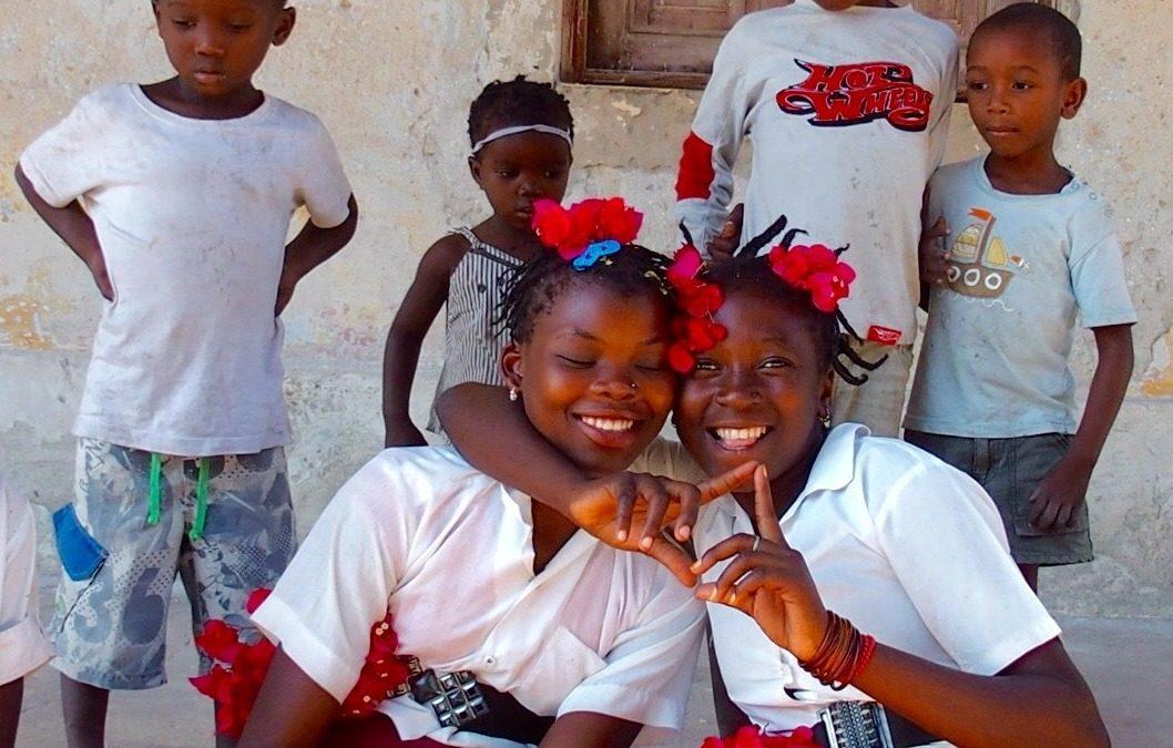 Rencontre avec de jeunes élèves sur l'Ile d'Ibo au Mozambique