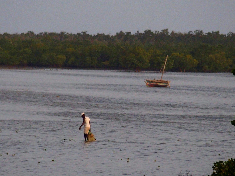 Pêche à pied île d'Ibo Mozambique