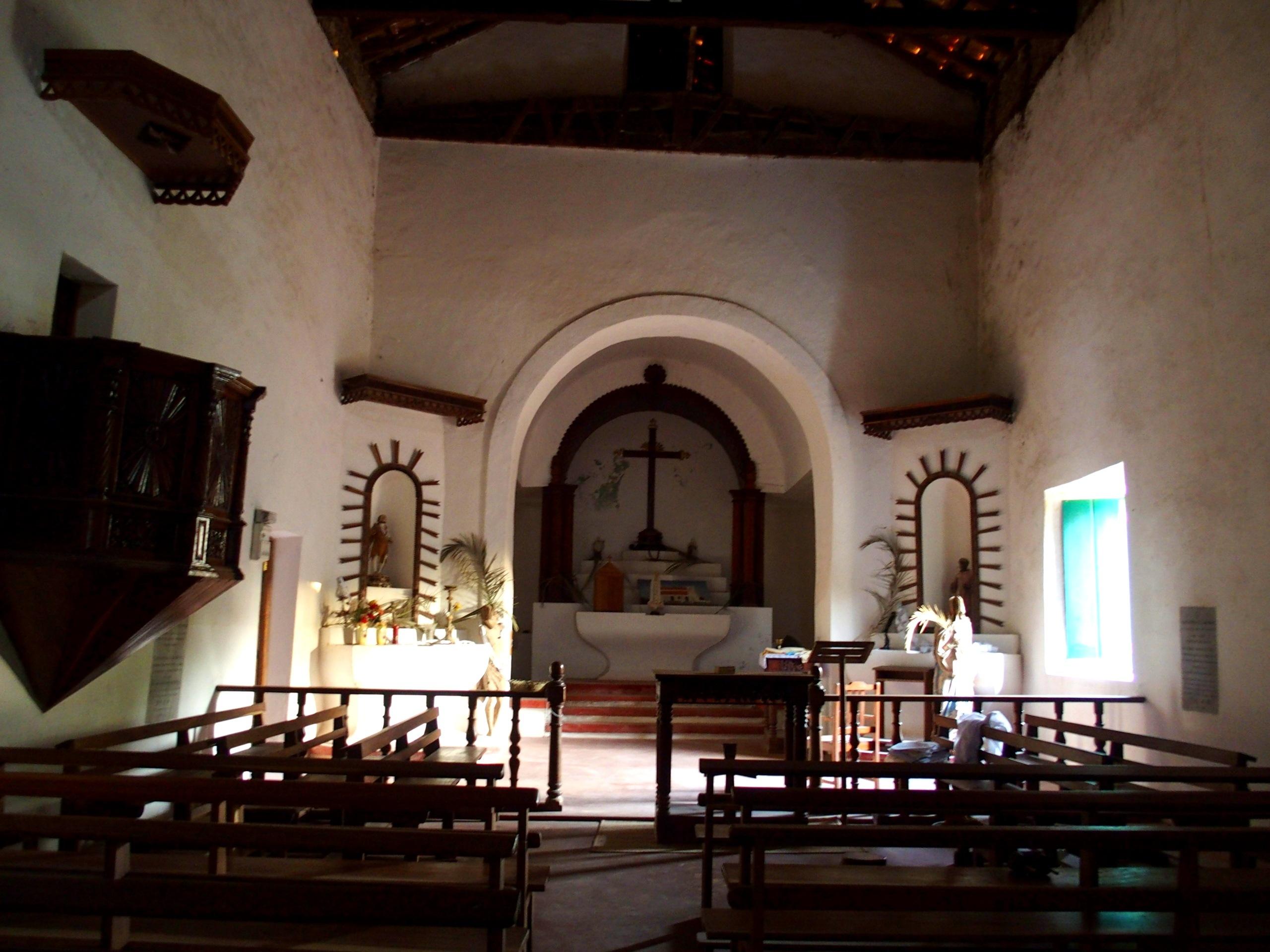Petite église dIbo Mozambique
