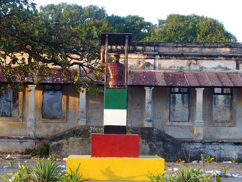 Place sur île d'Ibo Mozambique