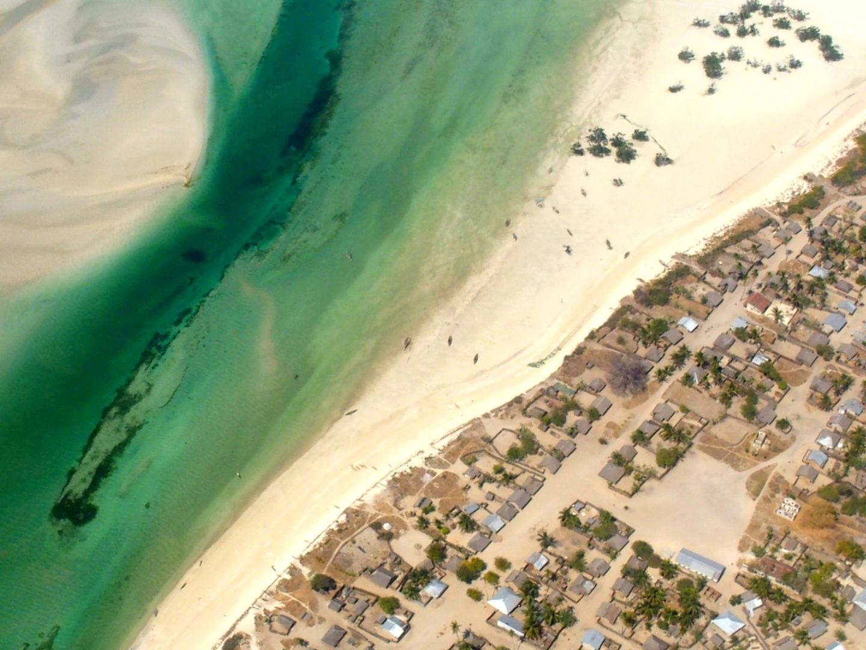 Rivage de Pemba Mozambique
