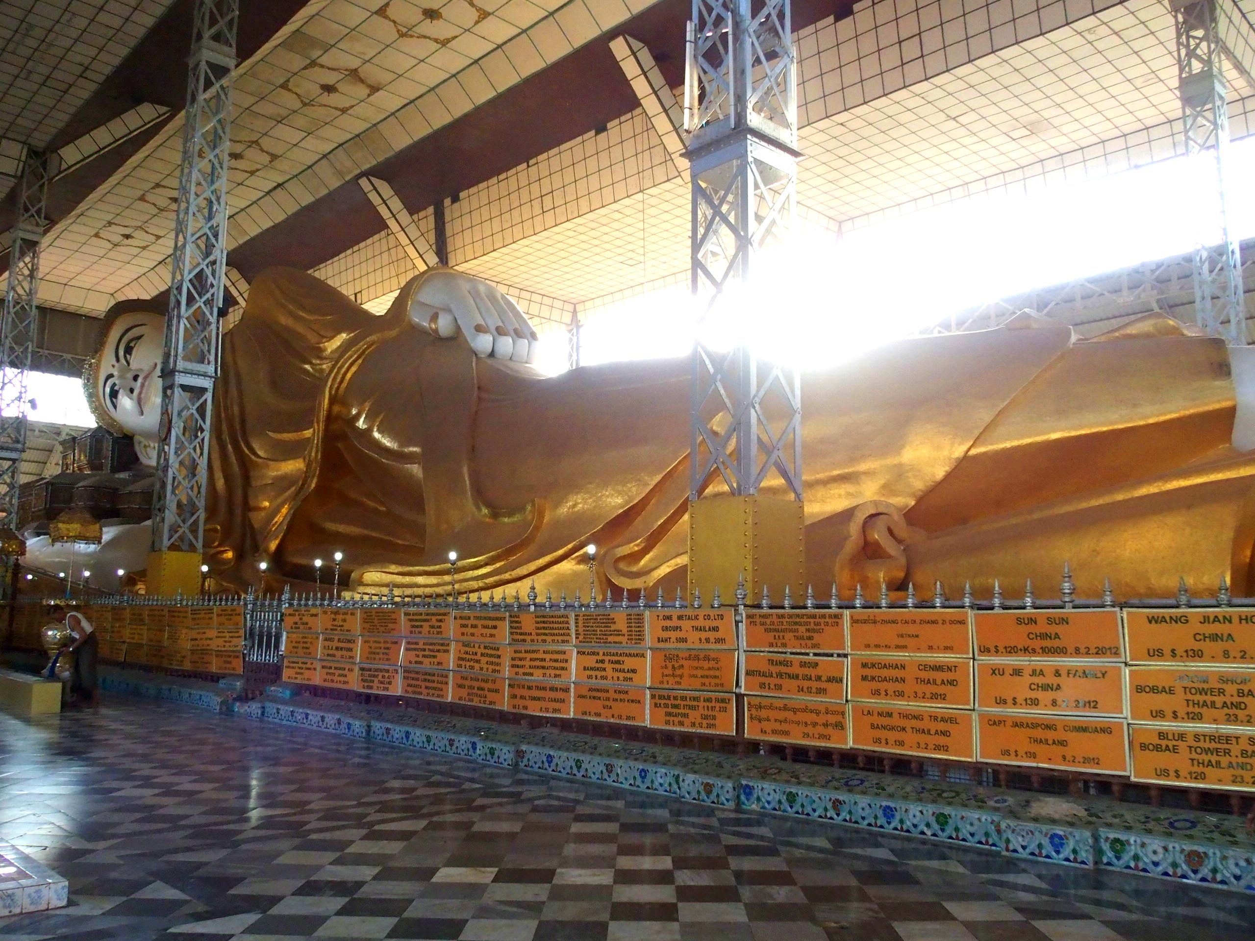 Bouddha-couché-Shwethalyaung-Bago-Myanmar