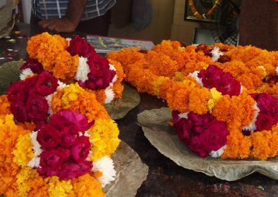 Colliers de fleurs Inde