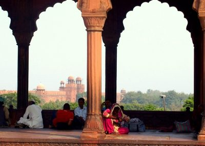 Cour intérieure Taj Mahal Inde