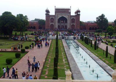 Entrée Taj Mahal Inde