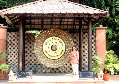 Gong de la Paix Maison Gandhi Delhi Inde