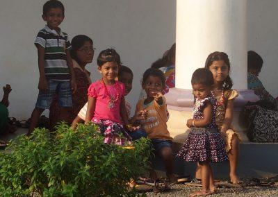 Groupe enfants Inde