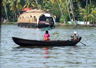 Houseboat à Alleypey Inde