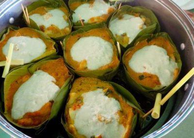 Amok Trei terminé cuisine Cambodge