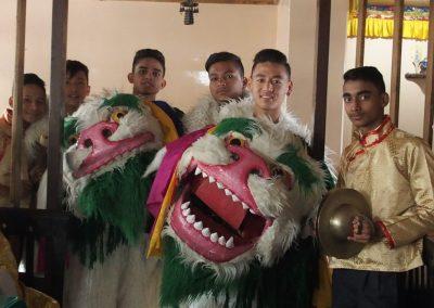 Jeunes danseurs Kalimpong Inde