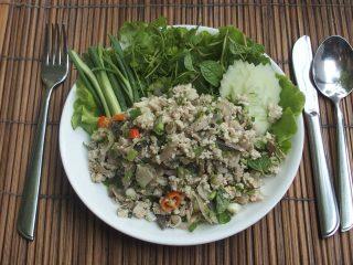 Recette du Laap Kai au poulet – Laos