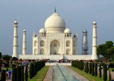 Majestueux Taj Mahal Agra Inde
