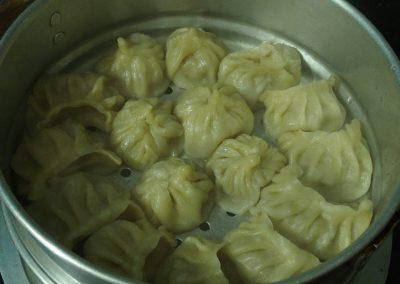 Momos, plat indo-népalais Inde