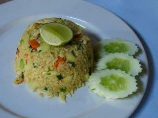 Curry de poulet à l'ananas – Thaïlande
