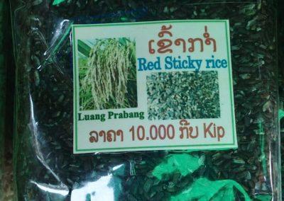 Riz rouge du Laos