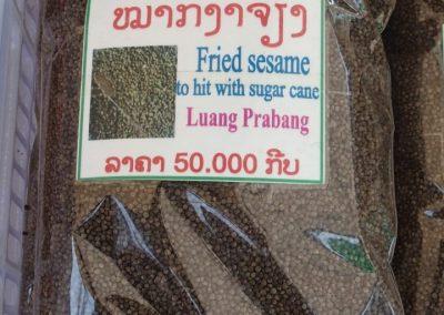 Sésame frit du Laos