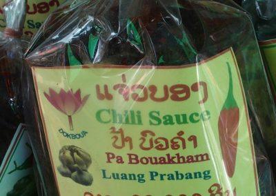 Sauce Chili au Laos