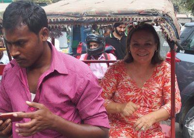 Visite Delhi dans rickshaw Inde