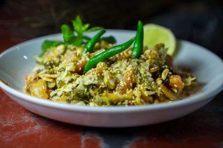 Tea leaf salad – Birmanie