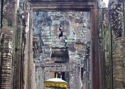 Petit temple Angkor Cambodge