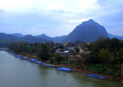 Arrivée à Nong Khiaw Laos
