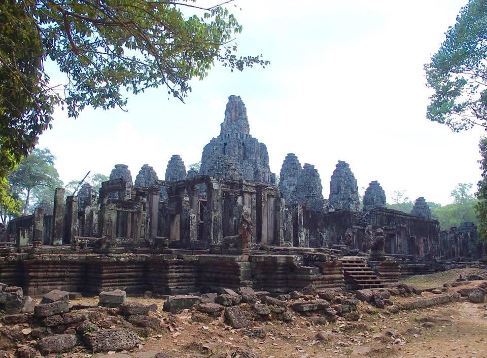 Bâtiment Temple Angkor Vat Cambodge