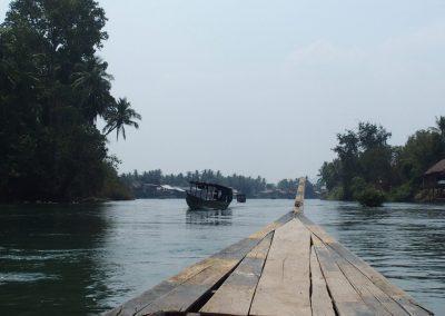 Balade sur le Mékong Laos