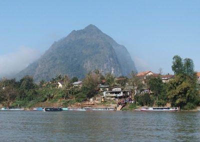 Embarcadère Nong Kwiaw Laos