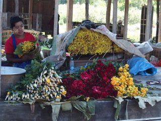 Marchés en Birmanie