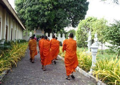 Moines Cambodge