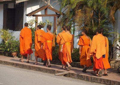 Moines Luang Prabang Laos